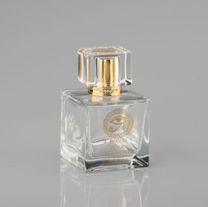 Gold supplier Transparet Perfume Glass Bottle With Printing