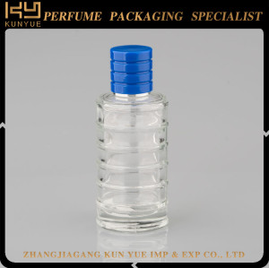 Hot Sale Diamond Shape Clear Glass Perfume Bottle