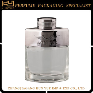 100ml Transparent Good Quality Glass Perfume Bottle With Special Cap