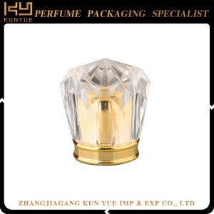 Beautiful Perfume Bottle Plastic Cap