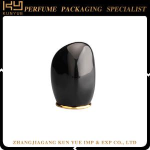 Newly Black Color Plastic Cap Perfume Bottle