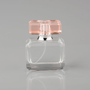 The Newest product 60ml square shape glass Perfume & cosmetic bottle from bottle manufacturer