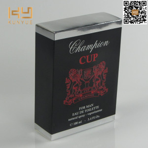 New arrival good quality promotional packaging box paper perfume box
