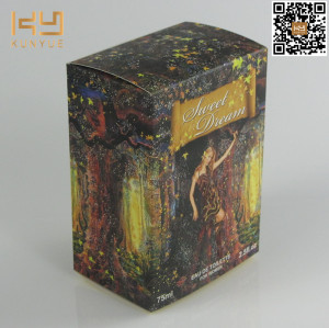 Professional design perfume box packaging cardboard cosmetic storage boxes with printing