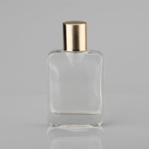 wholesale 80ml Fancy Attar Perfume Glass Bottle Crystal Perfume Bottle With Glass Stick