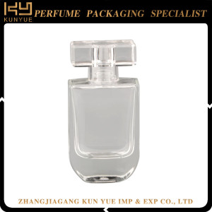 Polishing perfume bottle glass crystal 50ml diamond perfume bottles
