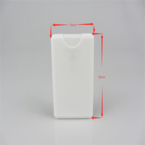 20ml credit card sprayer card sprayer bottle porkets sprayer 20ml perfume atomizer