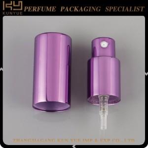 customized color mini  perfume bottle sprayer