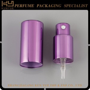 customized color mini  perfume bottle sprayer