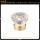 diamond model cap with decorative pattern glass perfume bottle
