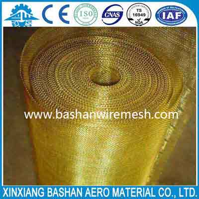 New Desinged and high quality 3~635um Brass  Wire Mesh used for filter