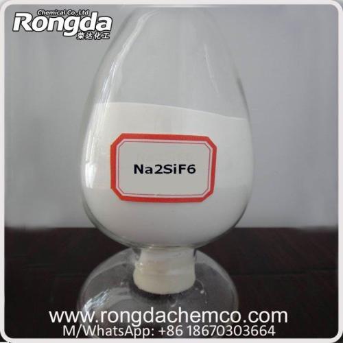sodium fluosilicate / silicofluoride khô cho nhà sản xuất thủy tinh và chất bảo quản gỗ