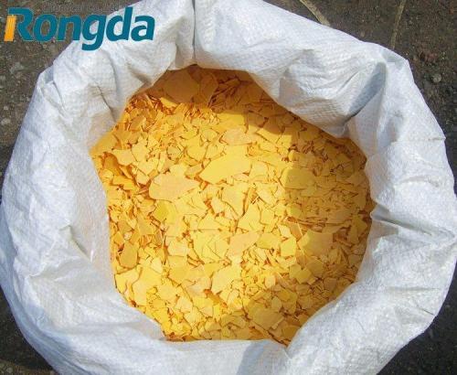 赤または黄色のフレークナトリウム硫化物