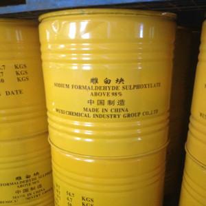 98% Rongalite lump, Sodium Formaldehyde Sulfoxylat lump,Rongalite lump manufacturer
