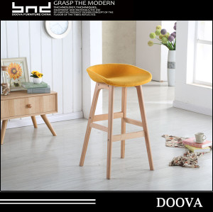 Europe popular metal base high fabric chair
