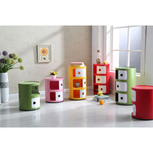 plastic storage stool chair for school student