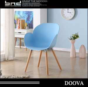 New style wooden plastic chair of office
