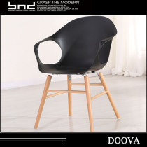 New style wooden plastic chair