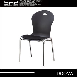 DOOVA- New Design plastic iron legs chair