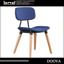 fashion design fabric student chair hot sale