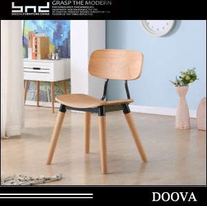 simple design wood chair hot sale for school
