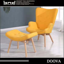 Unique shape design elegant sofa chair,living room furniture fabric sofa chair