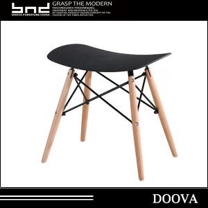plastic design cheap manufacture beech wood stool