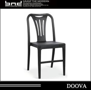 modern design plastic chair stackable