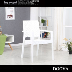 modern rattan design full pp plastic outdoor chair