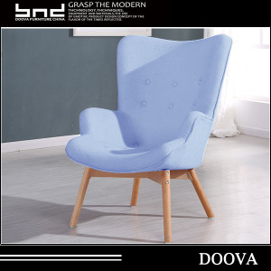 Ergonomic fabric easy lounge accent Armchair
