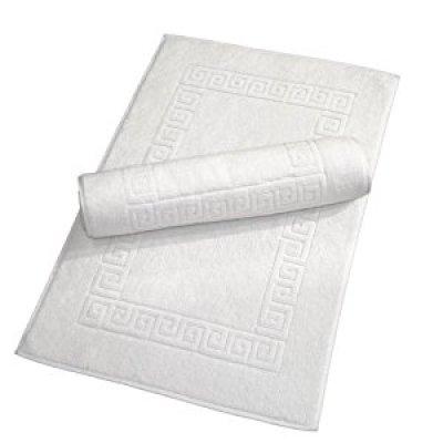 Home Textiles Greek Key Bath Mats