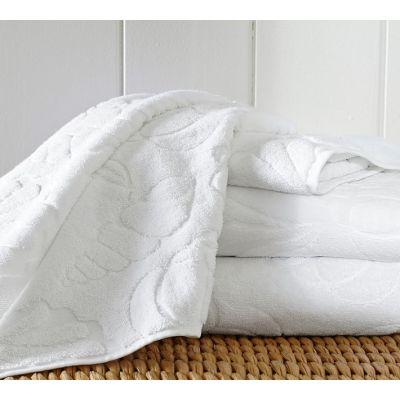 SHELL SCULPTED 600-GRAM WEIGHT BATH TOWELS