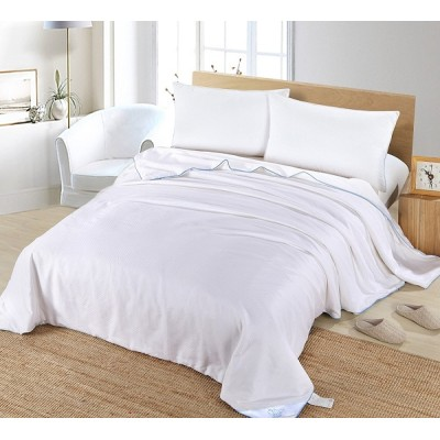Silk Camel Allergy Free Comforter Filling with 100% Natural long strand mulberry Silk for Summer - King Size