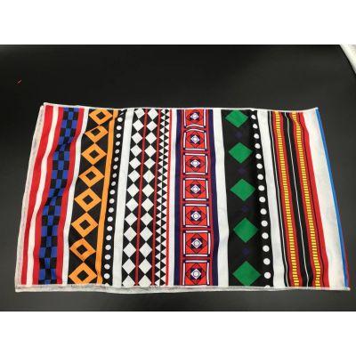 2018 hot sale microfibre custom single printed cooling  towel