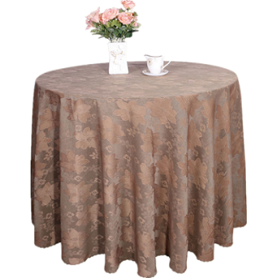flower jaquard table cover
