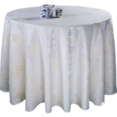 hot cutting round table cloth