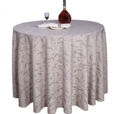 leaves table cloth