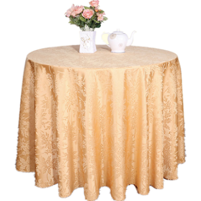 satin jaquard table cloth