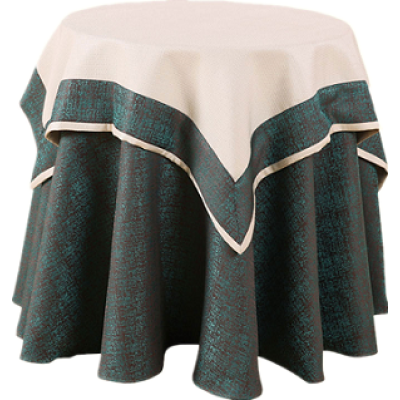 Double square table cloth
