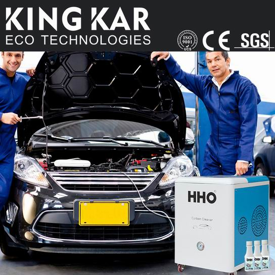 New Types Engine Carbon Clean Machine