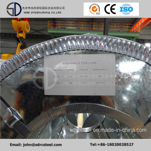 40-275 GSM Zinc Coated Galvanized Steel  Coils
