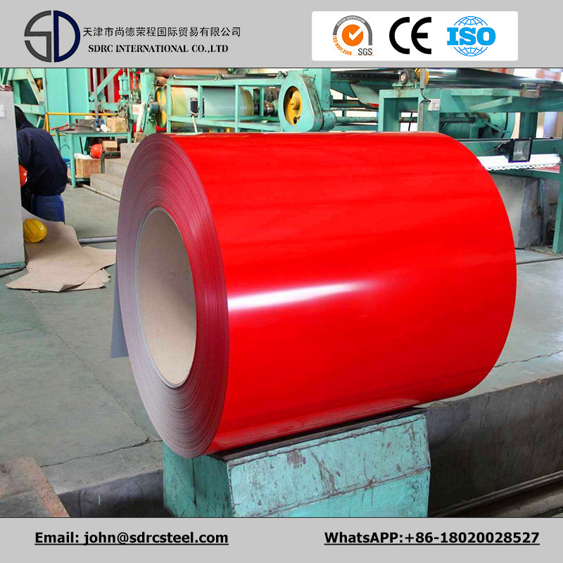 Pre Painted Galvanized Steel Coil Flower Coated PPGI for Building Material