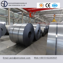 DC01 DC05 Cold Rolled Batch Annealed Steel Coil for steel door