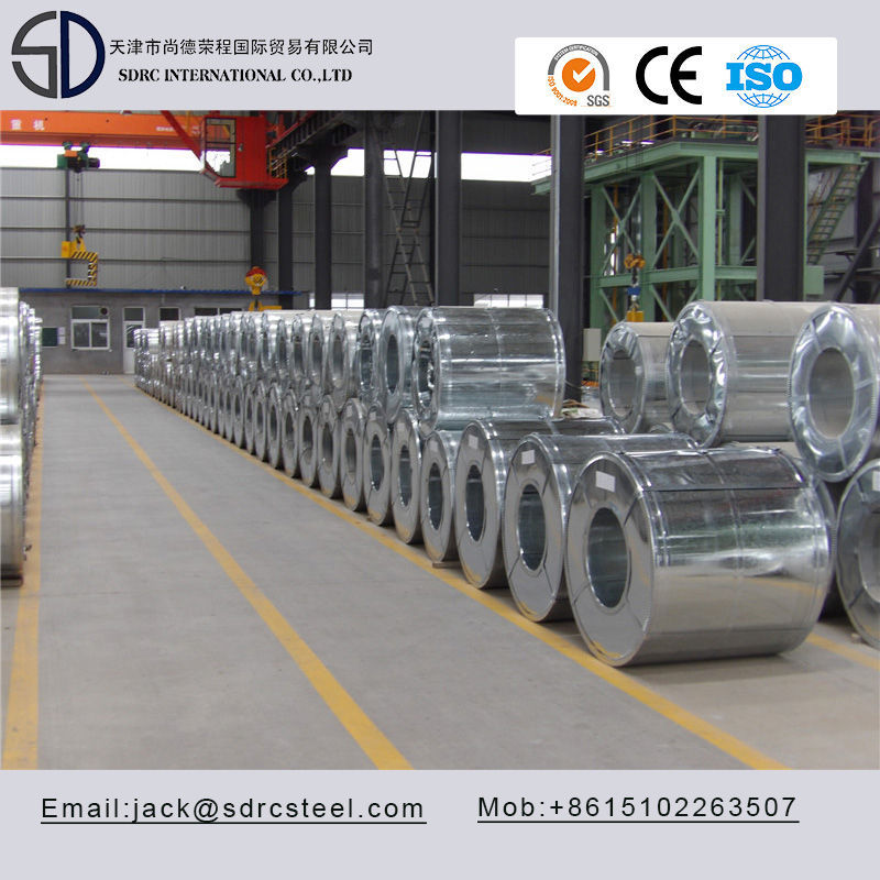 SGCC A653 Semi/Full Hard MAC Hot Dipped Galvanized Steel Coil