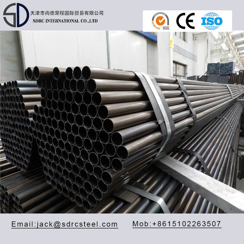 SS330 Carbon Round Black Annealed Cold Rolled Steel Pipe