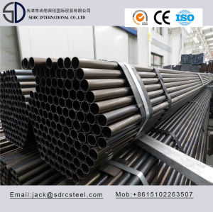 Q195 Ss330 Carbon Round Black Annealed Steel Pipe