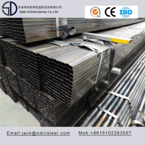 Q195 Square Black Annealed Steel Tube for desk structure