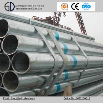 BS1387 Pre Galvanized Round Steel Tube and Pipe