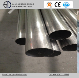 Pre Galvanized Round Tube for Water Supply Galvanized Steel Pipe