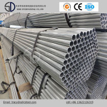 Building Materials Galvanized Round Steel Pipe /Pre Galvanized Steel Pipe
